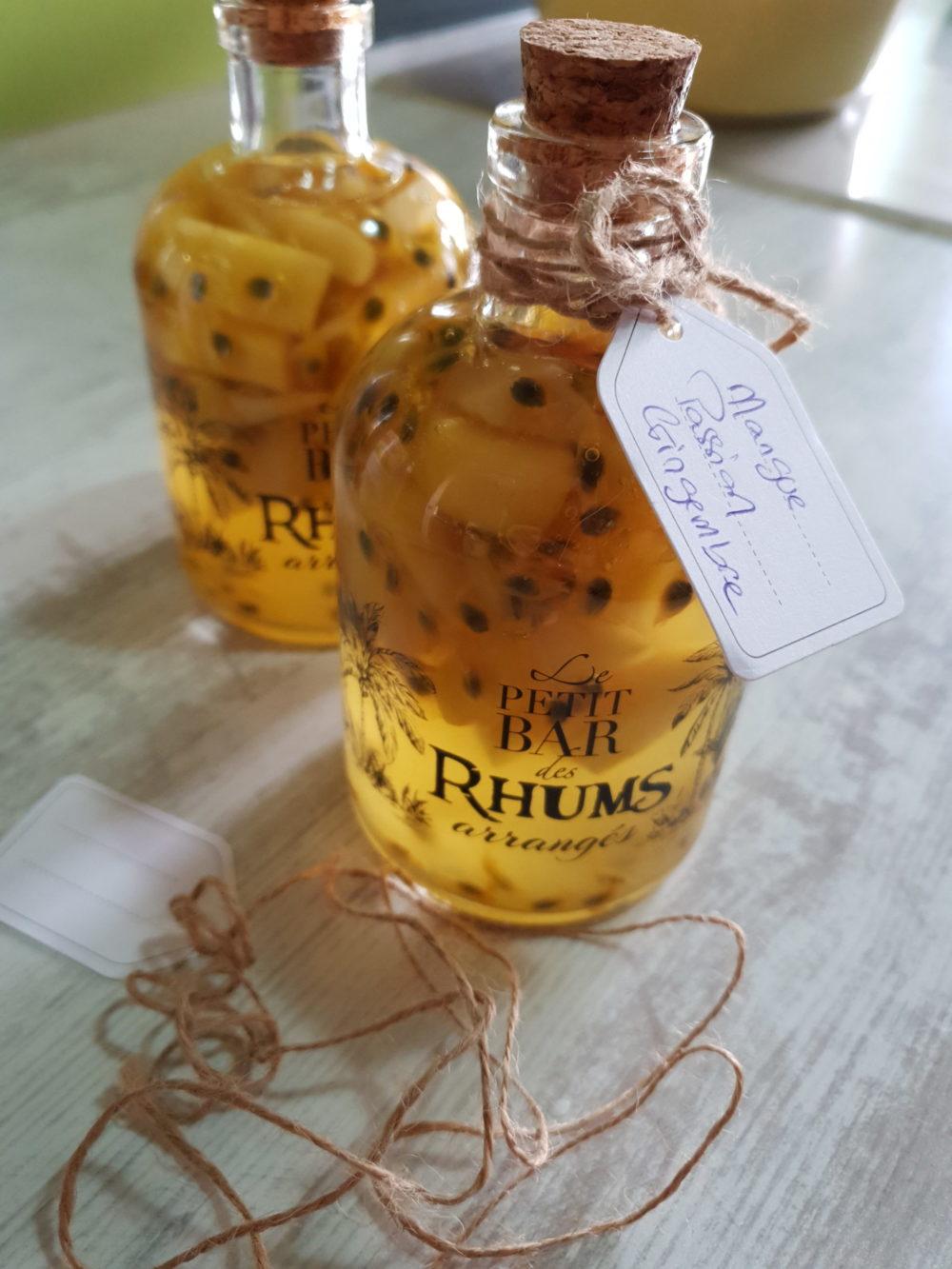 Home made tropical liquor